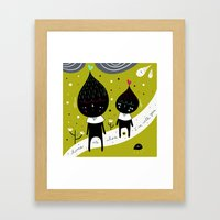 Home is where I'm with YOU Framed Art Print