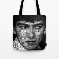 The Fab Four Songs - Geo… Tote Bag