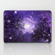 Trees, Stars And Lavende… iPad Case