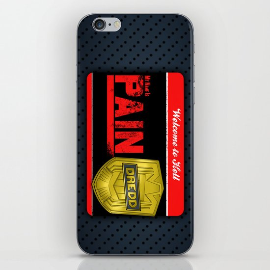 DREDD iPhone & iPod Skin