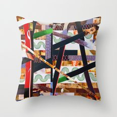Ruben (stripes 19) Throw Pillow