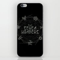 The Seven Wonders iPhone & iPod Skin