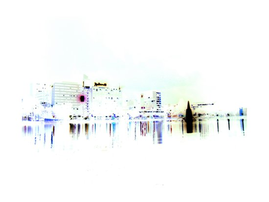 white harbor V. Art Print