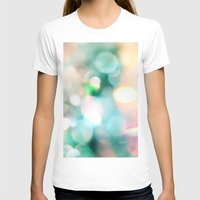 Aura Womens Fitted Tee White SMALL