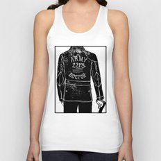 The Army Doctor Unisex Tank Top