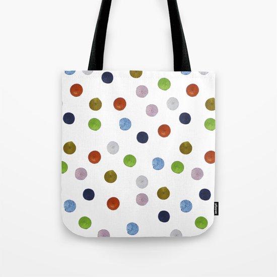 Pinpoint Dots Tote Bag