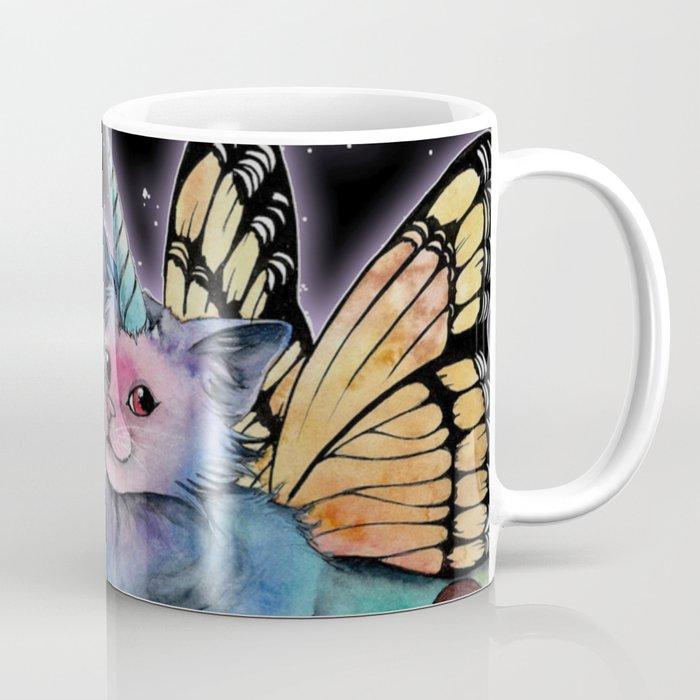 Cat Butterfly Oz Ceramic Travel Mug
