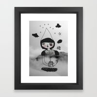 Witch House Framed Art Print