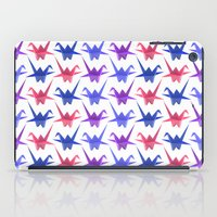 Origami Birds iPad Case