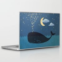 star Laptop & iPad Skins featuring Star-maker by Terry Fan