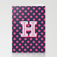 H Is For Happiness Stationery Cards