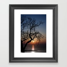 Sorrento Evening Sunset Framed Art Print