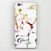 Jazzy Melody iPhone & iPod Skin