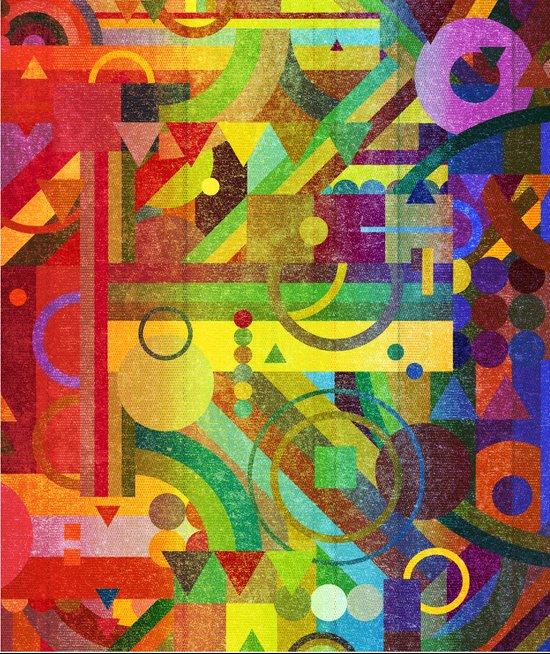 Future Patterns. Art Print