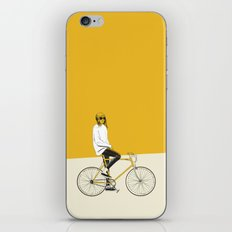 The Yellow Bike iPhone & iPod Skin