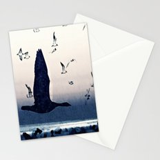 The goose and the seagulls Stationery Cards