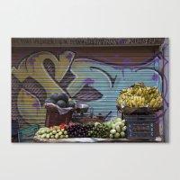 Graffiti Stand Canvas Print