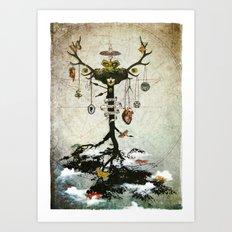 Supernatural - Strange Fruit Art Print