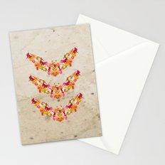 Floral Bat Stationery Cards