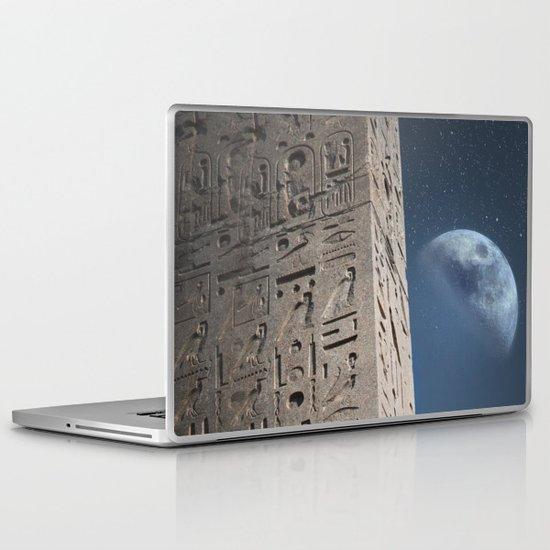 Egyptian Moon Laptop & iPad Skin