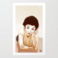 Tautou Art Print