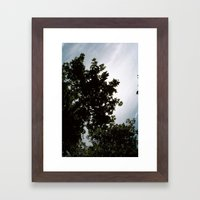 great sky Framed Art Print