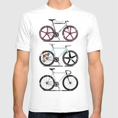 This Is How I Roll White Mens Fitted Tee SMALL