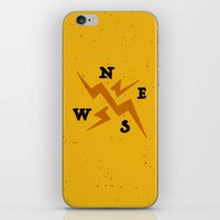 compass iPhone & iPod Skin