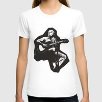 guitar T-shirts featuring guitar by Falsework