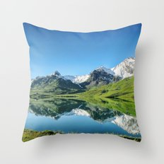 Melchsee Frutt Throw Pillow