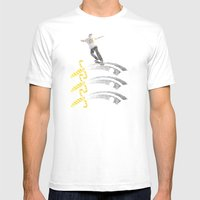 Essex Skateboarding  Mens Fitted Tee White SMALL