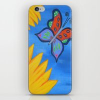 Butterfly Banquet iPhone & iPod Skin