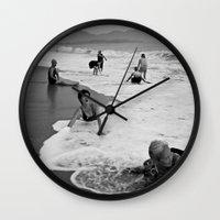 Bathing Woman In Vietnam… Wall Clock
