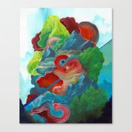Canvas Print featuring The Story We Kept Tellin… by Anthony Hurd