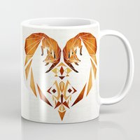 foxes heart  Mug