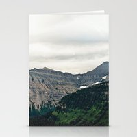 Mountain Green Stationery Cards