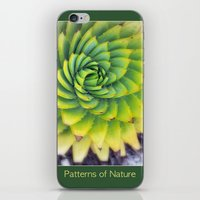 Patterns Of Nature - Suc… iPhone & iPod Skin