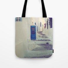 Santorini Door III Tote Bag