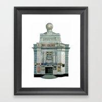 THE PALAIS Framed Art Print