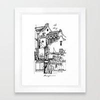 Penang, Malaysia (I) Framed Art Print