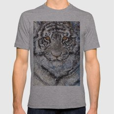 Zoetic Epithet Purregrination Transflecting Silent Whispers Heard Mens Fitted Tee Athletic Grey SMALL