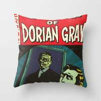 Oscar Wilde's Dorian Gra… Throw Pillow