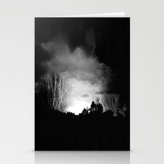 Coming Out Of The Darkness Stationery Card