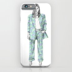 Balmain print suit iPhone 6 Slim Case