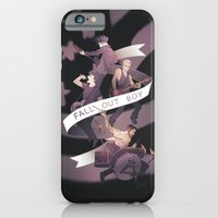 iPhone & iPod Case featuring Poster Boys For Your Scene by Blue