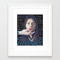 ::dream For A While:: Framed Art Print