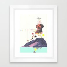 In a Pretty Land---for RVLVR Framed Art Print