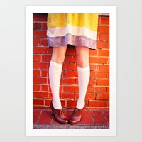 It's all about the shoes! Art Print