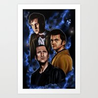 Doctors Three Art Print