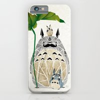totoro moustache iPhone 6 Slim Case